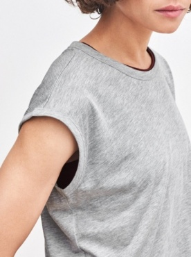 Filippa K Sleeveless T - Grey M