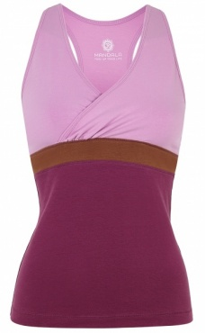 Color Block Wrap Top - Fluorite