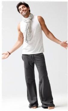 Mens Akasha Pants - Slate