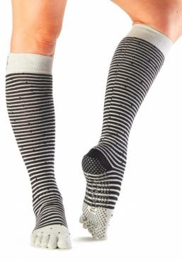Toesox Scrunch Knee Full Toe - Shimmy