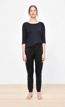 Filippa K Mid Sleeve T - Blue Graphite