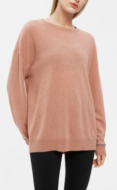 Filippa K 100% Cashmere Sweater Blush Mel