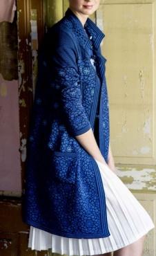 Oleana Cardigan Peony - Blue