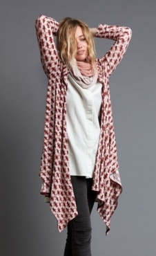 Dancer Wrap - Tea Rose