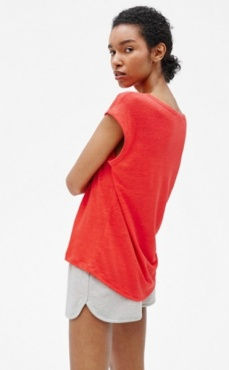 Filippa K Linen Cap Sleeve Top