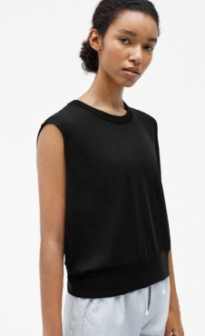 Filippa K Cool Down Top - Black
