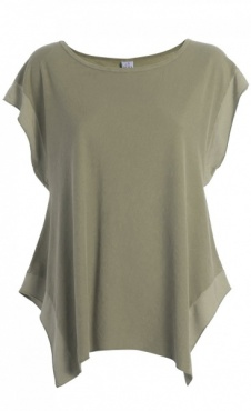 Trapeze Tee - Tender Green