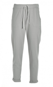 Easy Flow Pants - Light Grey