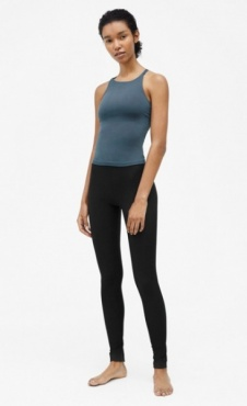 Seamless Strap Top - Pigeon
