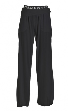 Roll-On Waist Pants - Black
