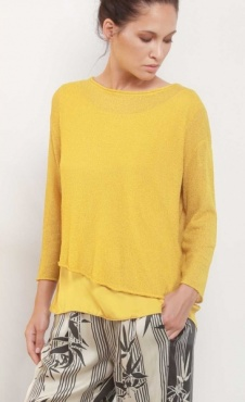 Sunny Knitted 2 in 1 sweater