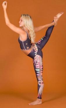 tEEKi Jungle Eyes Yoga Legging