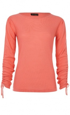 Barre Sweater - Coral