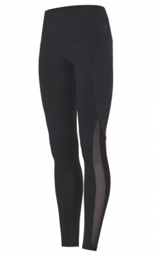High Waist Active Legging - Black