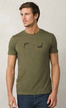 prAna Block T - Cargo Green