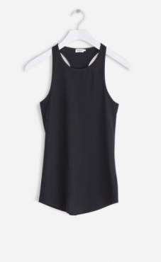 Filippa K Athletic Cotton Tank - Black