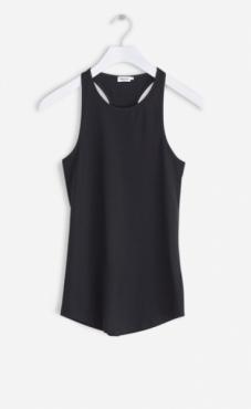 Filippa K Athletic Cotton Tank - Black