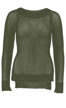 Fauve Sweater - Kale