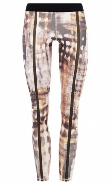 Bamboo Forest Stripes Legging