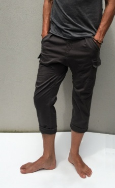 Mens Side Car Pants - Earl Grey