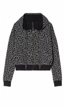 10Days Cropped Cardigan Leopard