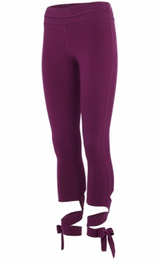 Wrap Pants - Purple