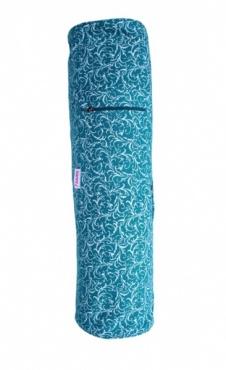 Yoga Mat Bag Full Print - Azure