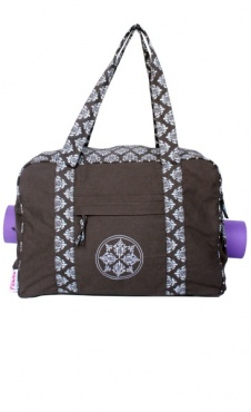 Yoga Mat Bag Shopper Mandala