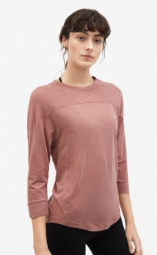 Filippa K Layer Top - Rosewood