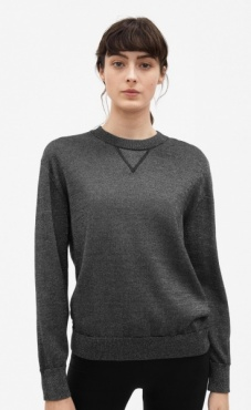 Filippa K Lurex Knit Sweatshirt