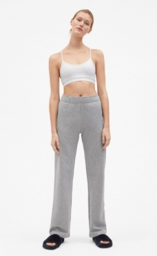 Filippa K Brushed Sweat Pants - Grey mel