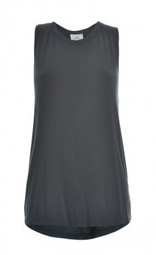 High Neck Swing Back Top