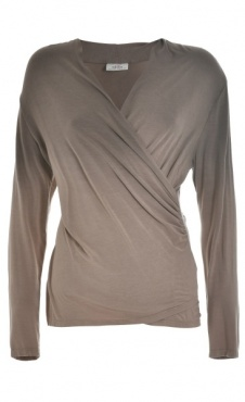Shaded Longsleeve T - Taupe