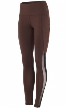High Waist Active Legging - Coffee