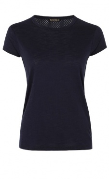Cap Sleeve Tee - Blue Night