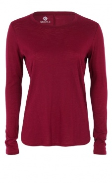 Cozy Longsleeve Shirt - Beetroot
