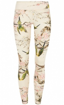 Love Birds Printed Yoga Legging