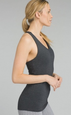 prAna Verana Top - Charcoal Heather