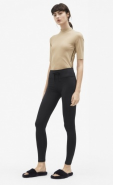 Filippa K Brushed Leggings - Black