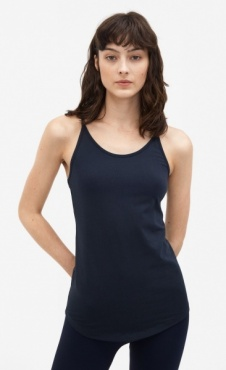 Filippa K Cotton Strap Tank - Night Sky