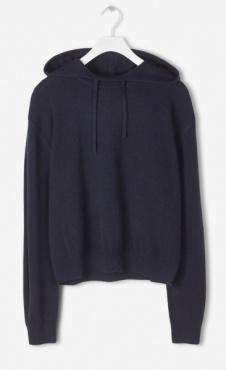Filippa K Cashmere Hood Sweater