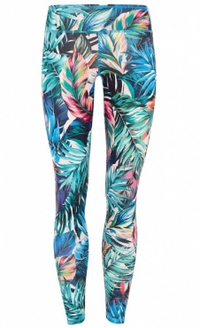 Natural Printed Legging Feather