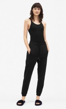 Filippa K Shiny Track Pants - Black