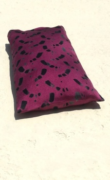 Eye pillow Trace Me - Fuchsia