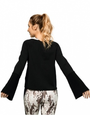 Resolution Bell Sleeve Black