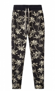 10Days Banana Pants Palm - Charcoal