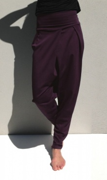 Kyko Yoga Pants - Deep Plum