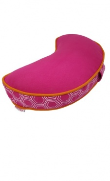 Half Moon Meditation Cushion - Fuchsia