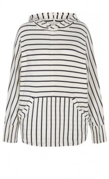 Mellow Hoodie - Navy Stripes