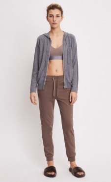 Filippa K Shiny Track Pants - Mink